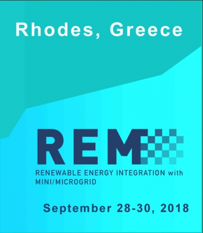 REM 2018 conference has been held successfully on September 28-30 (2018) in Rhodes (Greece)