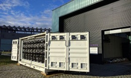 Prototype battery storage system fully tested in Berlin and ready for Tilos!!!