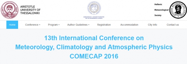 COMECAP 2016, 19-21 September 2016, Greece.